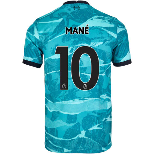 2020/21 Kids Nike Sadio Mane Liverpool Away Jersey