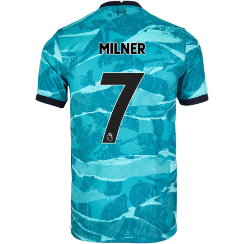 2020/21 Kids Nike James Milner Liverpool Away Jersey