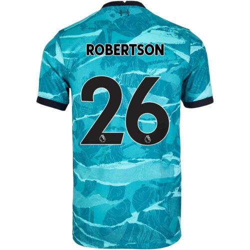2020/21 Kids Nike Andrew Robertson Liverpool Away Jersey