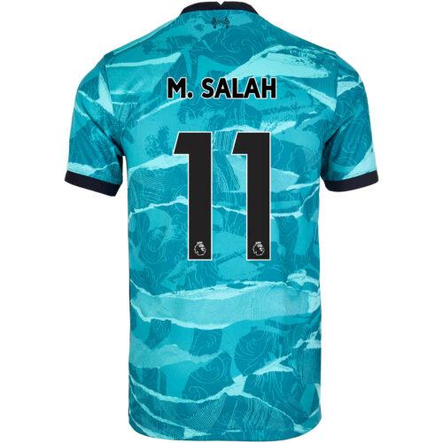 2020/21 Kids Nike Mohamed Salah Liverpool Away Jersey