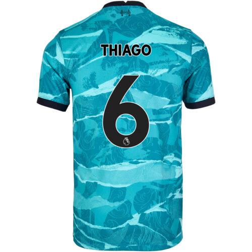 2020/21 Kids Nike Thiago Liverpool Away Jersey