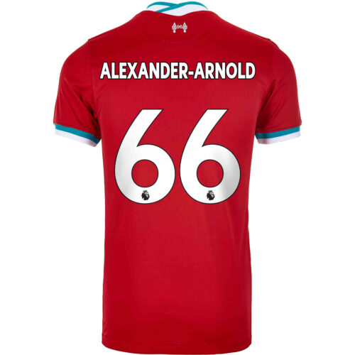 2020/21 Kids Nike Trent Alexander-Arnold Liverpool Home Jersey