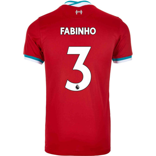 2020/21 Kids Nike Fabinho Liverpool Home Jersey