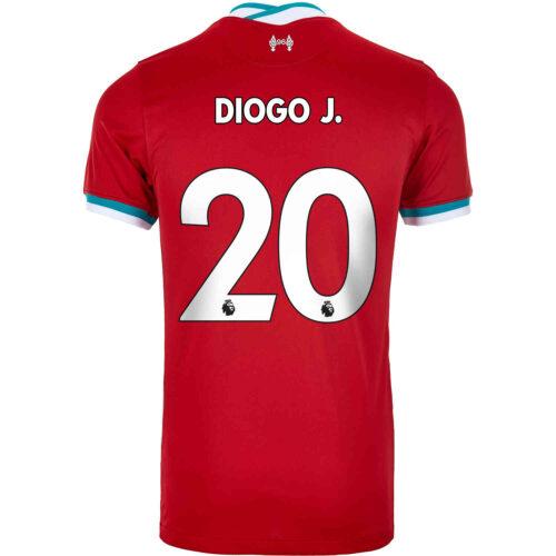 2020/21 Kids Nike Diogo Jota Liverpool Home Jersey