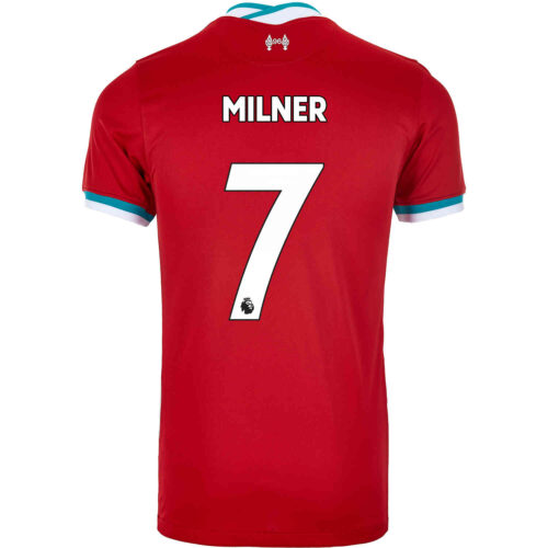 2020/21 Kids Nike James Milner Liverpool Home Jersey