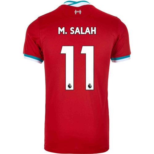 2020/21 Kids Nike Mohamed Salah Liverpool Home Jersey