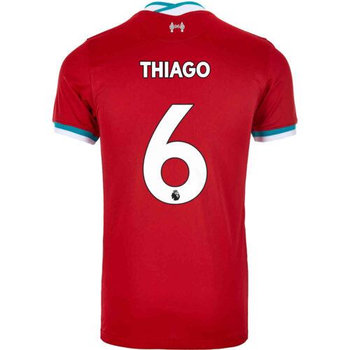 2020/21 Kids Nike Thiago Liverpool Home Jersey