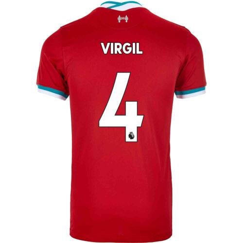 2020/21 Kids Nike Virgil van Dijk Liverpool Home Jersey