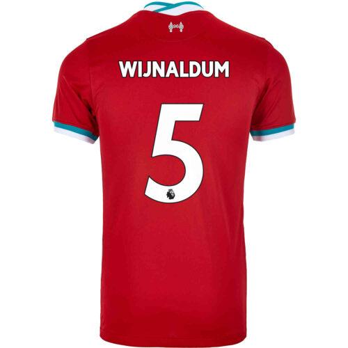2020/21 Kids Nike Georginio Wijnaldum Liverpool Home Jersey