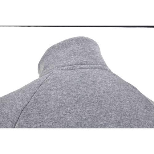 Nike Liverpool Everett Mock 1/2 zip Sweatshirt – Dk Grey Heather