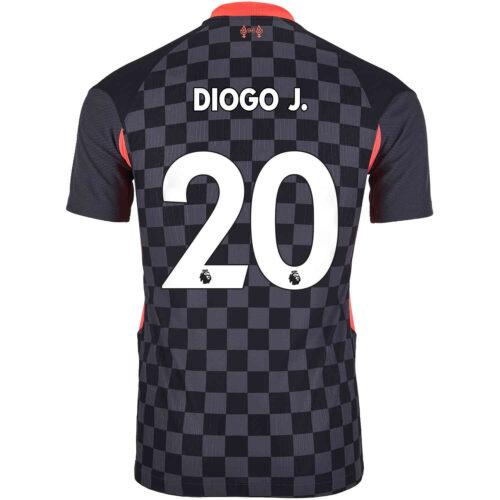 2020/21 Nike Diogo Jota Liverpool 3rd Match Jersey