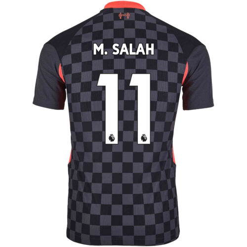 2020/21 Nike Mohamed Salah Liverpool 3rd Match Jersey