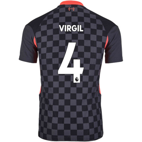 2020/21 Nike Virgil van Dijk Liverpool 3rd Match Jersey