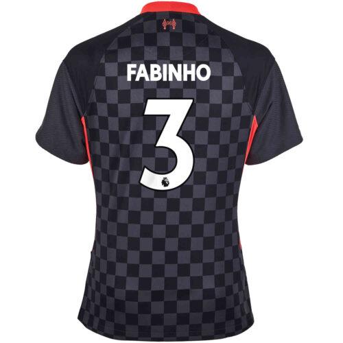 2020/21 Womens Nike Fabinho Liverpool 3rd Jersey