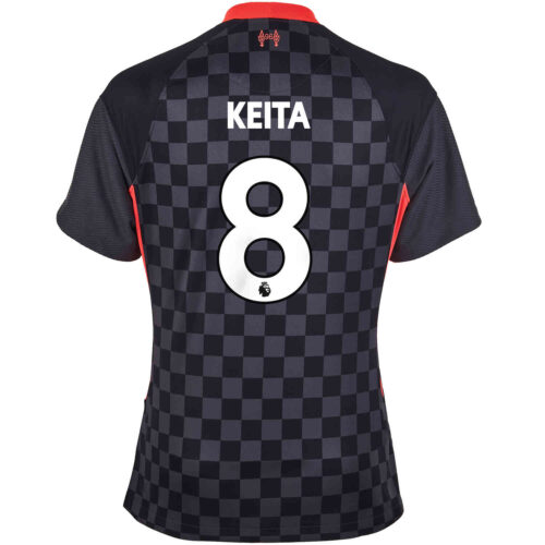 2020/21 Womens Nike Naby Keita Liverpool 3rd Jersey