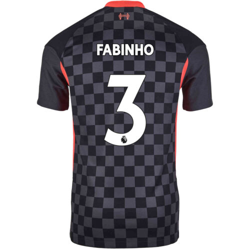2020/21 Kids Nike Fabinho Liverpool 3rd Jersey