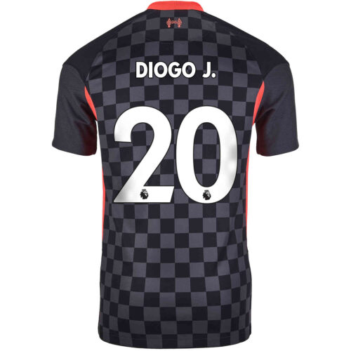 2020/21 Kids Nike Diogo Jota Liverpool 3rd Jersey