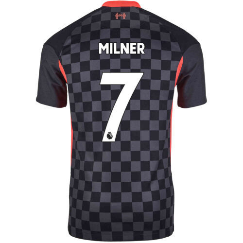 2020/21 Kids Nike James Milner Liverpool 3rd Jersey