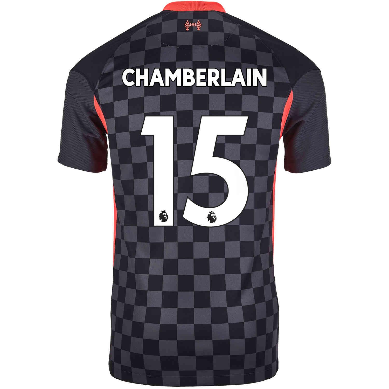 2020/21 Kids Nike Alex Oxlade-Chamberlain Liverpool 3rd Jersey ...