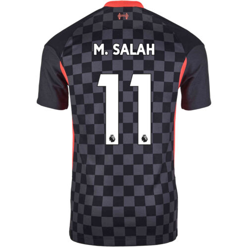 2020/21 Kids Nike Mohamed Salah Liverpool 3rd Jersey