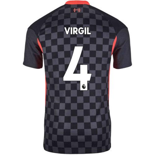 2020/21 Kids Nike Virgil van Dijk Liverpool 3rd Jersey