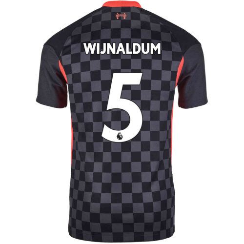 2020/21 Kids Nike Georginio Wijnaldum Liverpool 3rd Jersey