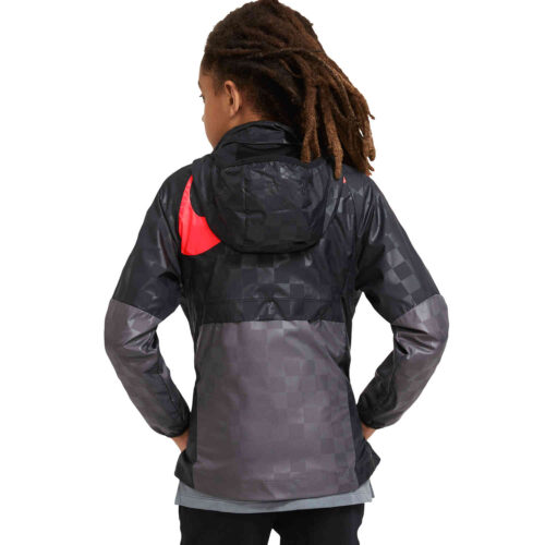 Kids Nike Liverpool AWF LTE Jacket – Dark Grey/Black/Laser Crimson/White