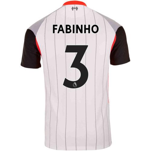 2021 Nike Fabinho Liverpool Air Max Jersey
