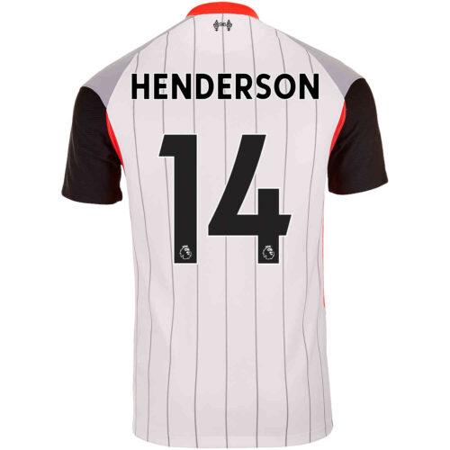 2021 Nike Jordan Henderson Liverpool Air Max Jersey