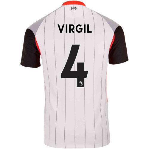 2021 Nike Virgil van Dijk Liverpool Air Max Jersey