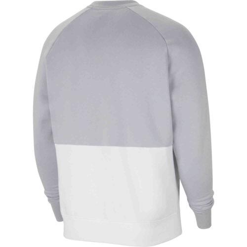 Nike Liverpool Air Fleece Crew – Wolf Grey/White/Black/Laser Crimson