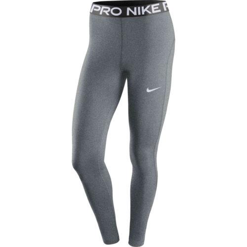 Womens Nike Pro 365 Tights – Smoke Grey/Htr/Black/White
