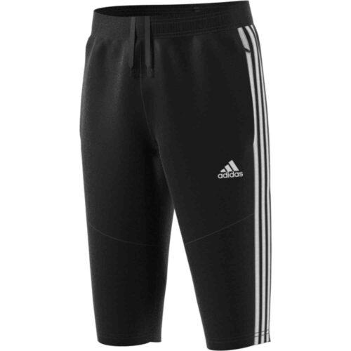 Kids adidas Tiro 19 3/4 Pants – Black/White