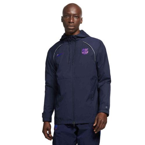 Nike Barcelona AWF Lifestyle Jacket – Obsidian/Obsidian/Irridescent