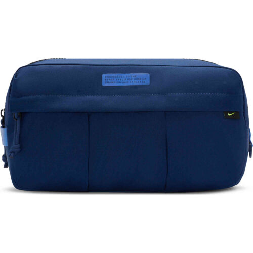 Nike Academy Shoe Bag – Blue Void & Sapphire with Volt