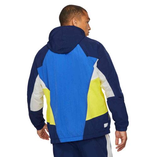 Nike Chelsea Signature Woven Windrunner Lifestyle Jacket – Game Royal/Blue Void/Opti Yellow/Summit White