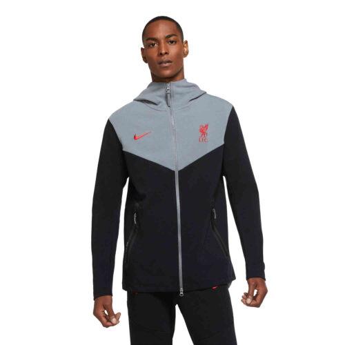 Nike Liverpool Tech Pack Full-zip Hoodie – Black/Smoke Grey/Gym Red