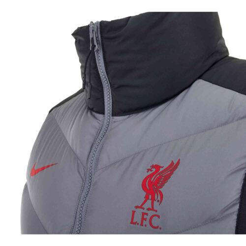 Nike Liverpool Down Fill Vest – Black/Smoke Grey/Gym Red