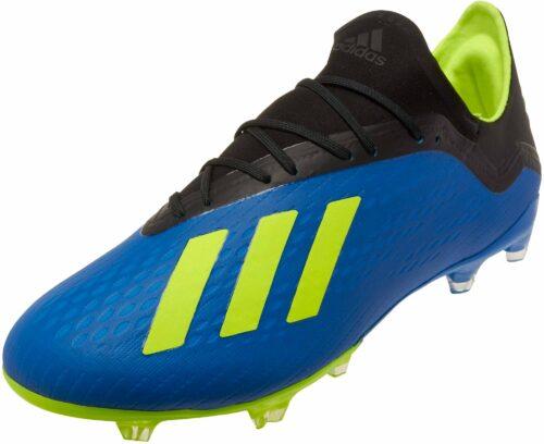 adidas X 18.2 FG – Football Blue/Solar Yellow/Black
