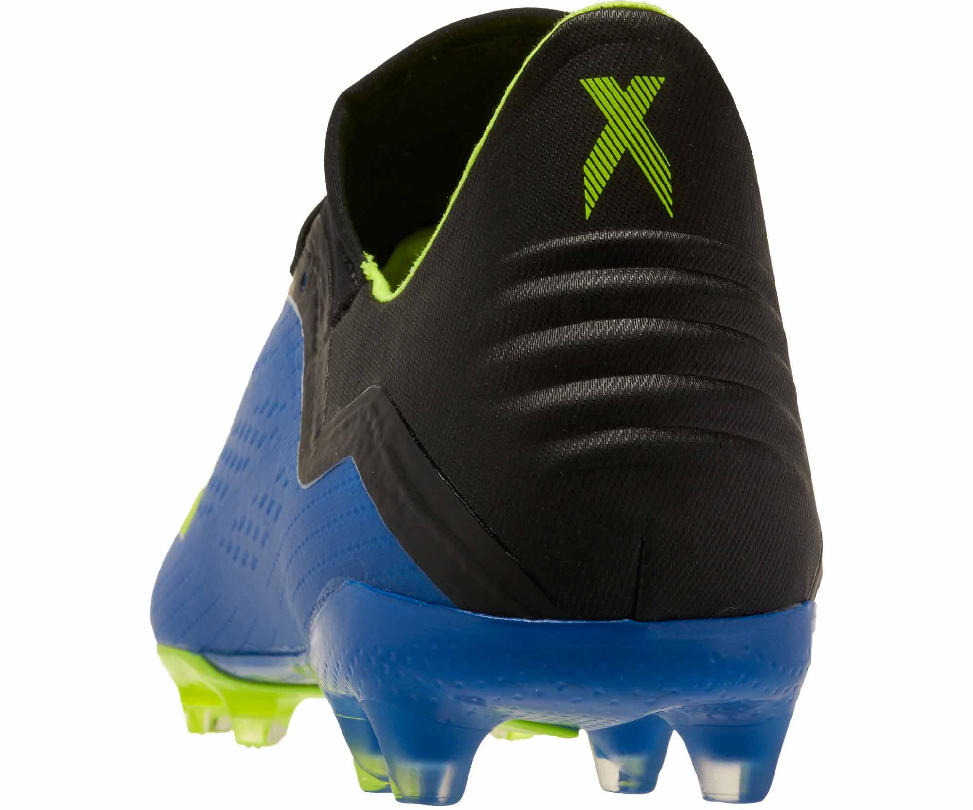 buy popular dff0f bc5d9 adidas X 18.2 FG – Football Blue Solar Yellow Black