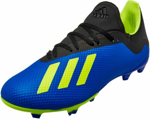 adidas X 18.3 FG – Football Blue/Solar Yellow/Black