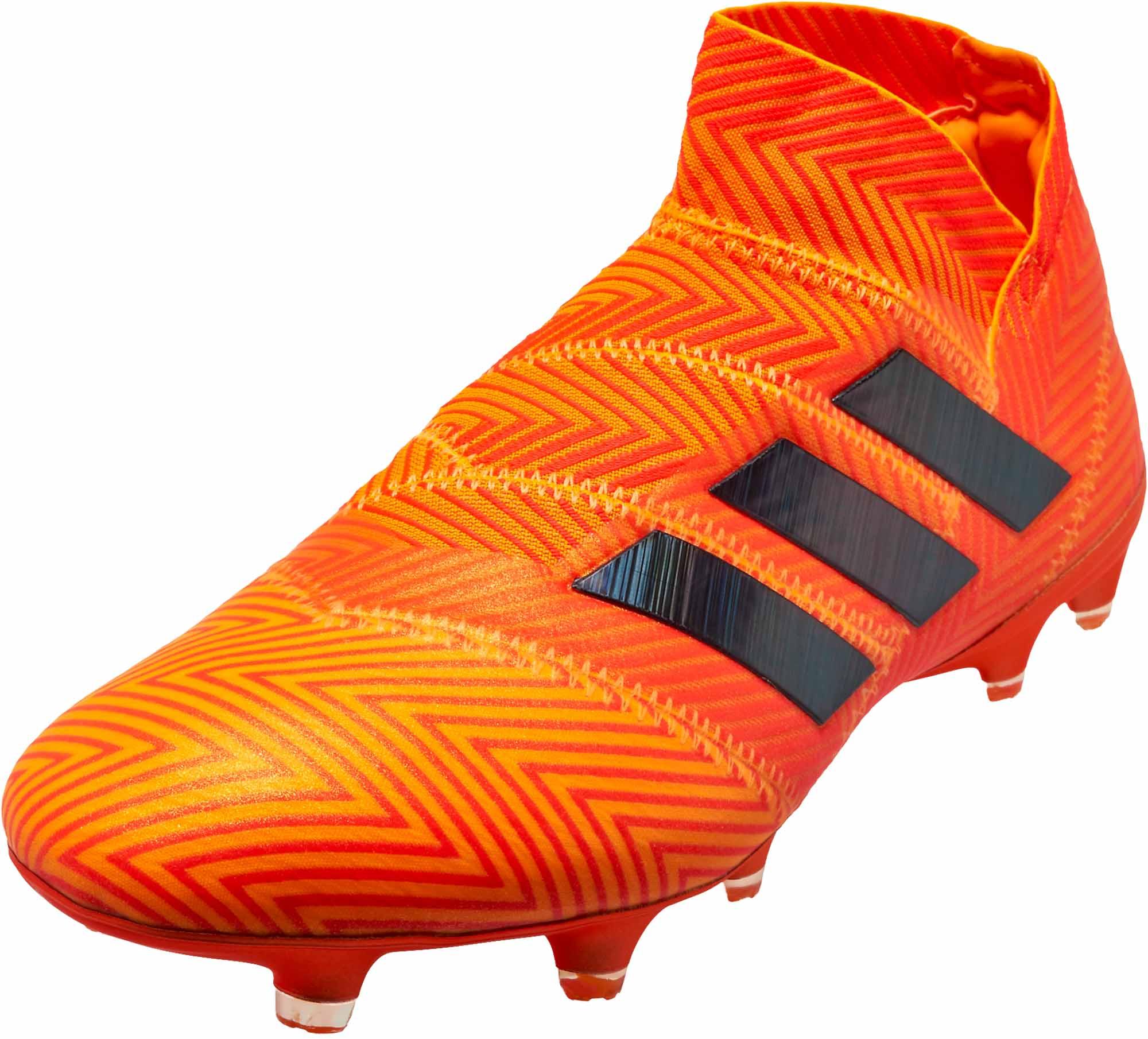 Adidas nemeziz 18   FG Zest / negro / rojo soccerpro solar