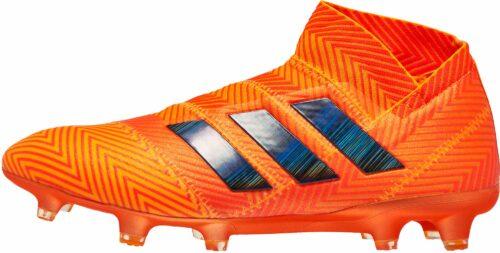 adidas Nemeziz 18   FG – Zest/Black/Solar Red
