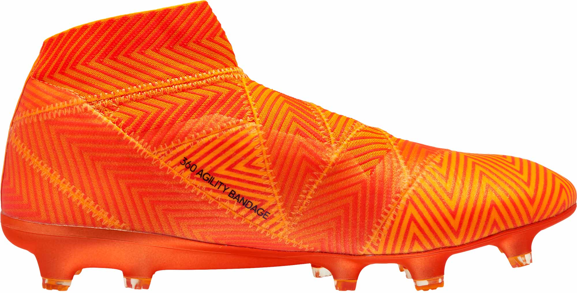 low priced db71b 14a54 adidas Nemeziz 18 FG – ZestBlackSolar Red