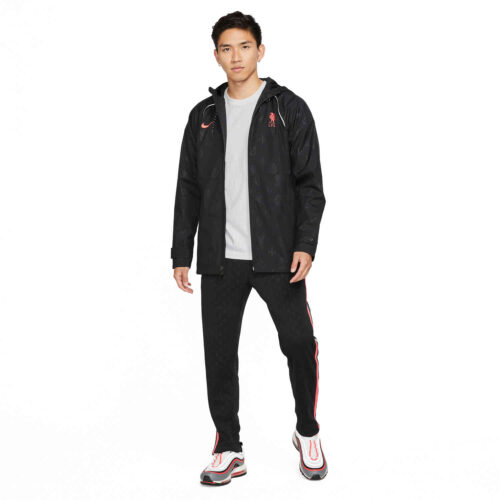 Nike Liverpool AWF Lifestyle Jacket – Black/Bright Crimson