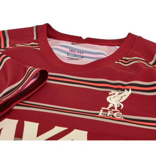 Nike Liverpool Home Pre-match Top – 2021/22