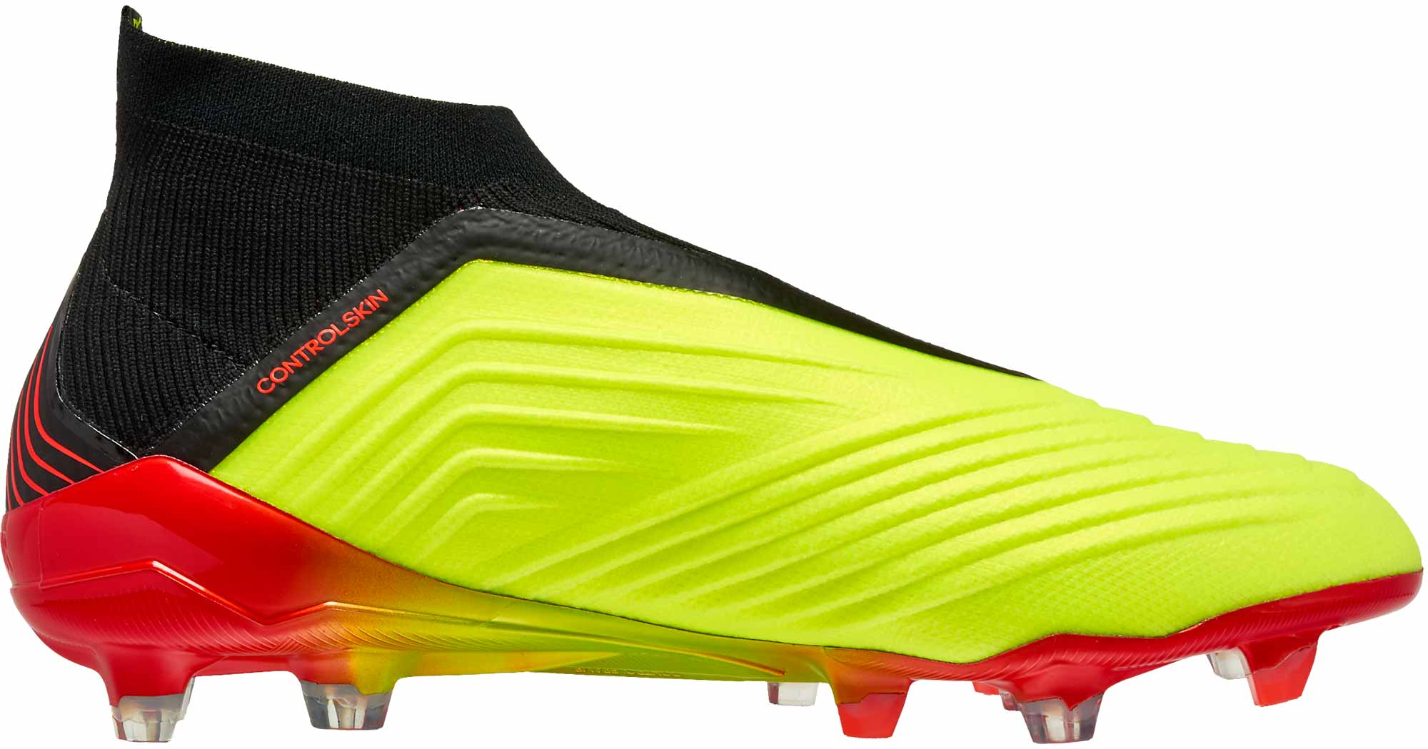 super popular b6e6f 87c46 adidas Predator 18 FG – Solar YellowBlackSolar Red