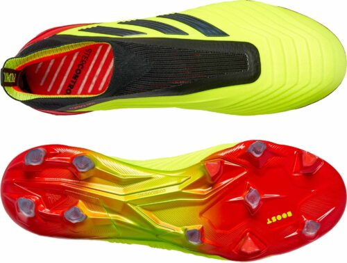adidas Predator 18  FG – Solar Yellow/Black/Solar Red