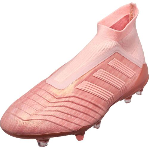 adidas Predator 18+ FG – Clear Orange/Trace Pink