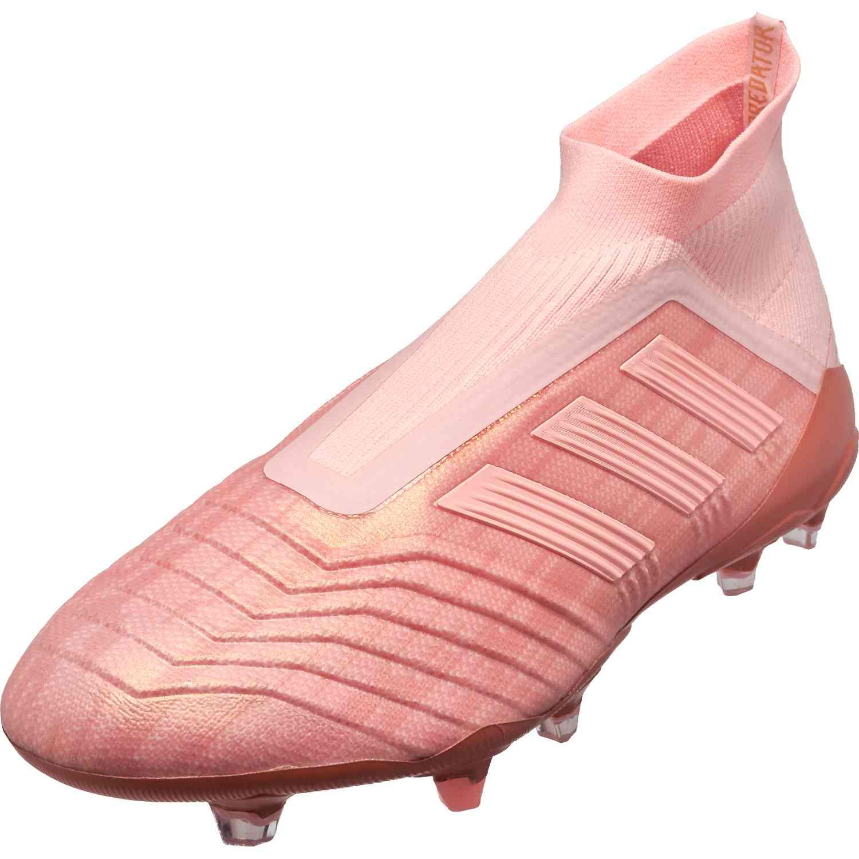 adidas Predator 18 FG – Clear OrangeTrace Pink